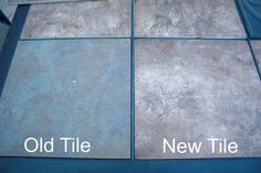 Old and New Tile Refreshed Patio Table by Denise Designed