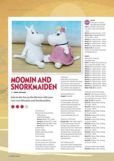 from Inside crochet issue 66 2015 Crotchet Patterns Free, Amigurumi Patterns, Knitting Patterns, Knitted Dolls, Crochet Dolls, Crochet Yarn, Crochet Snowman, Knitted Animals, Crochet Magazine