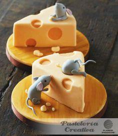 Fascículo 73 de Pastelería Creativa - Pastelitos con queso y ratones
