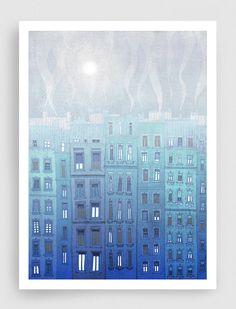 Hey, diesen tollen Etsy-Artikel fand ich bei https://www.etsy.com/de/listing/110757882/foggy-day-in-paris-fine-art-illustration