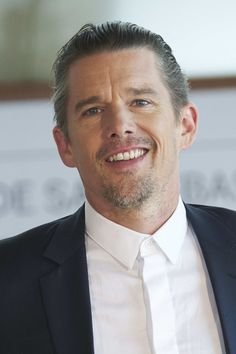 """Actor Ethan Hawke attends """"The Magnificent Seven"""" photocall during 64th San…"""
