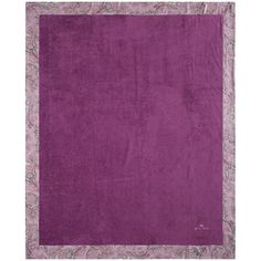 Etro Abbots Beach Towel for 2 with Border - Purple ($295) ❤ liked on Polyvore featuring home, bed & bath, bath, beach towels, purple, purple beach towel and etro