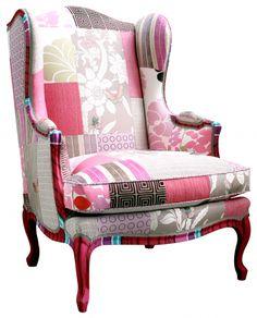 Sweet Chair!  Gilles Nouailhac - Bergère Maintenon