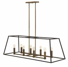 Fulton Linear Chandelier | Lighting Connection