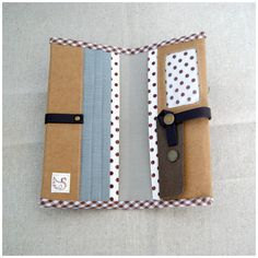 Washable Kraft Paper Long Wallet by soarshadow on Etsy, $30.00