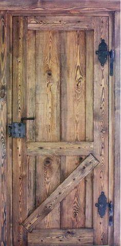 Meble i drzwi :: Drzwi rustykalne :: Drzwi wewnętrzne wiejskie rustykalne