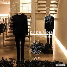 Vinilos Día del Padre 001: Vinilos decorativos Día del Padre Vinilos adhesivos vidrieras escaparates show window Window Display Wall Art Stickers wall stickers