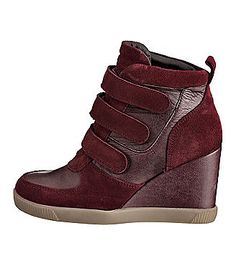 Buffalo Sneaker Wedges
