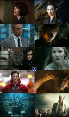 The Hobbit cast becomes part of the Marvel cast. It was only a matter of time, they are fricking brilliant actors/actresses