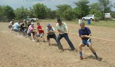 Boeresport team building activity