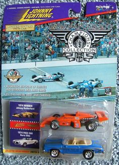 Check out Johnny Lightning Indianapolis 500 Champions Collection Johnny Rutherford 1974  http://www.ebay.com/itm/Johnny-Lightning-Indianapolis-500-Champions-Collection-Johnny-Rutherford-1974-/161415358686?roken=cUgayN&soutkn=yFbU0Y via @eBay