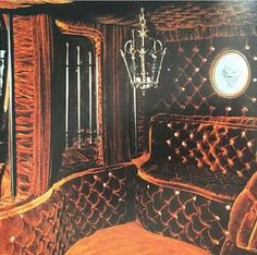 Custom 70's van interior
