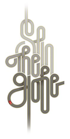 Spin the Globe By: André Beato (Portuguese Graphic designer & Illustrator) Creative Typography, Typography Letters, Typography Logo, Graphic Design Typography, Graphic Design Illustration, Graphic Design Trends, Graphic Design Inspiration, Design Ideas, Type Posters