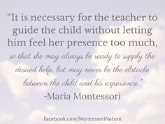 Montessori Nature: Free Word Art Printables | Montessori Quotes | Inspirational Quotes