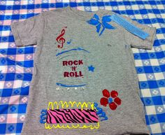 rock n' roll t shirt
