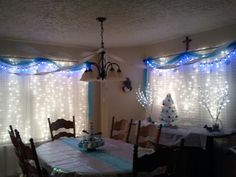 Frozen birthday party!! Omg...she's going to love this...