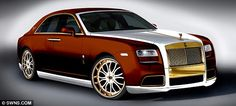 £1 million 24-carat gold Rolls-Royce is unveiled (but who on earth would want to buy it?)