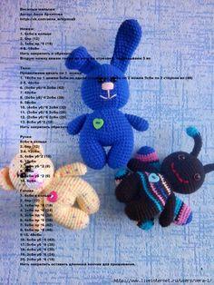 bear, bunny, bug