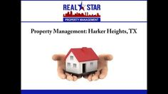If you are looking for efficient property management services in Harker Heights, TX, consider REAL Star Property Management, LLC. The company provides comprehensive services such as property marketing, tenant screening, inspection, lease preparation, rent collection etc. To know more about the property management services provided, visit : http://www.realstarmanage.com