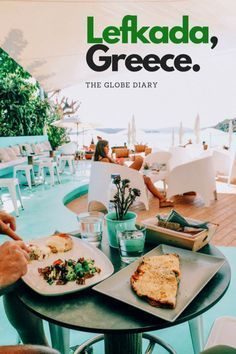Travel to the Beautiful Greek Island of Lefkada and see the most gorgeous beach in the world Where to eat, stay and visit Backpacking Europe, Europe Travel Guide, Travel Destinations, Travel Tips, Travel Guides, Greece Destinations, Europe Packing, Travel Plan, Packing Lists