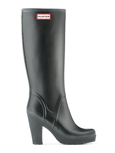 Womans High Heel Rain Boots | Rubber Boots | Hunter Boot Ltd ...