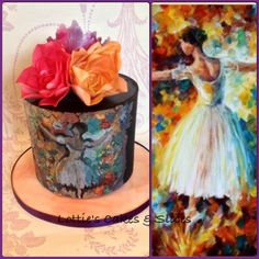 Simply Ballet  - Cake by Lotties Cakes & Slices
