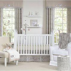 Sweet Safari 5 Piece Neutral Baby Crib Bedding Set by Wendy Bellissimo