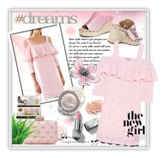 """""""#Dreams~"""" by rj-cupcake ❤ liked on Polyvore featuring Paul & Joe, Viktor & Rolf, HoneyBee Gardens, Burberry, Inge Christopher and Letter2Word"""