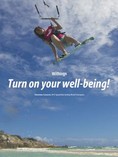 Charlotte Consorti is the 2012 Speed Kite Surfing World Champion.  Learn more about the Withings devices she uses to keep trim: http://www.withings.com/en