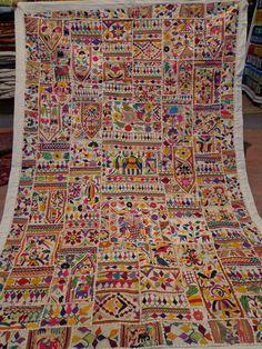 katchi textiles/vintage mirror work and by jaisalmerhandloom, $119.00