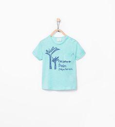 ZARA - ÚLTIMA SEMANA - T-shirt estampado árvore