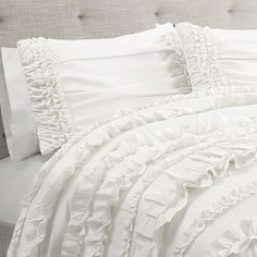 Farmhouse Bedding Sets Night Stands Ideas For 2019 Best Bedding Sets, Bedding Sets Online, Queen Bedding Sets, Luxury Bedding Sets, Comforter Sets, Mandalay, Ruffle Bedding, Linen Bedding, Bed Linens