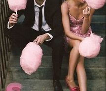 Inspiring picture beautiful, beauty, candy, cotton candy, cute, fashion. Resolution: 355x499 px. Find the picture to your taste!