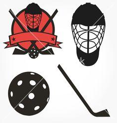 Unihockey floorball hockey icon set vector image on VectorStock Icon Set, Maple Leaf Tattoos, Adobe Illustrator, Vector Free, Decoupage, Wallpaper, Illustration, Inspiration, Pdf