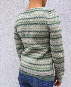 """Claras """"Gråsparv"""" on Ravelry Hand Knitted Sweaters, Hand Knitting, Vests, Ravelry, Knitwear, Men Sweater, Pullover, Inspiration, Fashion"""