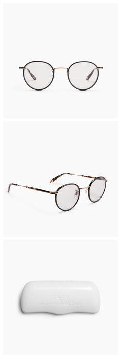 7a9100fec4 WANT Les Essentiels x  garrettleight Wilson optical frame Optical Frames