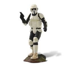 The elite Scout Trooper joins the official Star Wars series.