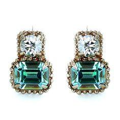 Sorrelli Square Duet Earrings: Sorrelli: Jewelry