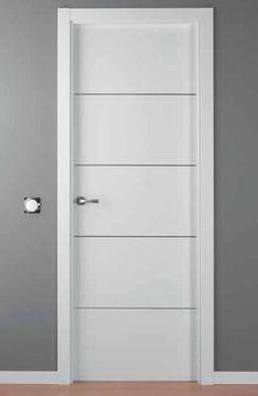 Because White is always beautiful. Bedroom Door Design, Bedroom Doors, Doors And Floors, Windows And Doors, Wood Front Doors, Door Casing, Inside Doors, Tub Shower Combo, Modern Door