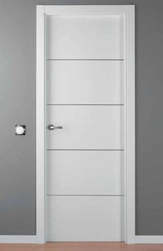 1000 images about puertas on pinterest modern interior for Puertas de madera blancas con vidrio