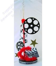 """Hollywood Glamour Centerpiece is 36"""" tall and can be ordered in 5 different colors. Save money with this DIY kit."""