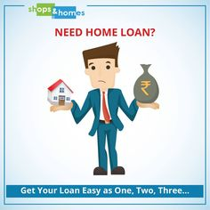 Planning to take a home loan? get your loan as easy as one..two..three.