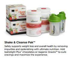 Getting Started - Shake & Cleanse Pak www.jamestrudell.isagenix.com
