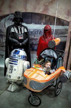 Stroller costume - Star Wars Stroller -  Landspeeder Stroller