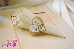 Crea il tuo Matrimonio Perfetto - Conetti per il riso e Wedding Bag