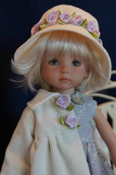 """Effner 13"""" Little Darling Lilac Lovely Ensemble by Ladybugs Doll Designs OOK   eBay. Ends 2/19/14"""
