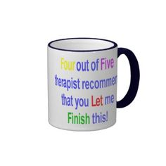 Four Out Of Five Therapist Mug