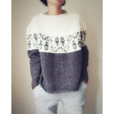 Super Ideas For Knitting Patterns Sweaters Easy Fashion Outfits Pull Crochet, Easy Crochet, Knit Crochet, Ravelry Crochet, Fair Isle Knitting, Easy Knitting, Knit Fashion, Sweater Fashion, Fashion Outfits