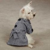 Found it at Wayfair - The First Lady Gingham Dog Trench Coat