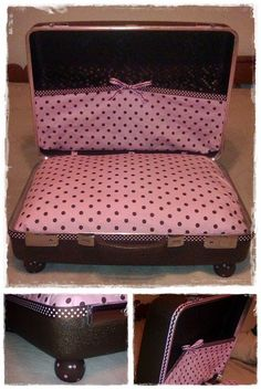 Another suitcase pet bed!